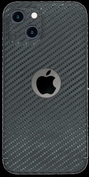 Carbon Cover iPhone 13 Mini avec Logo Window