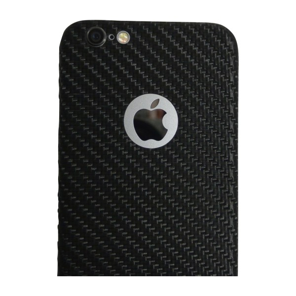 Carbon Cover iPhone 6 avec Logo Window