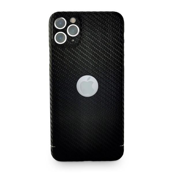 Carbon Cover iPhone 11 Pro Max avec Logo Window