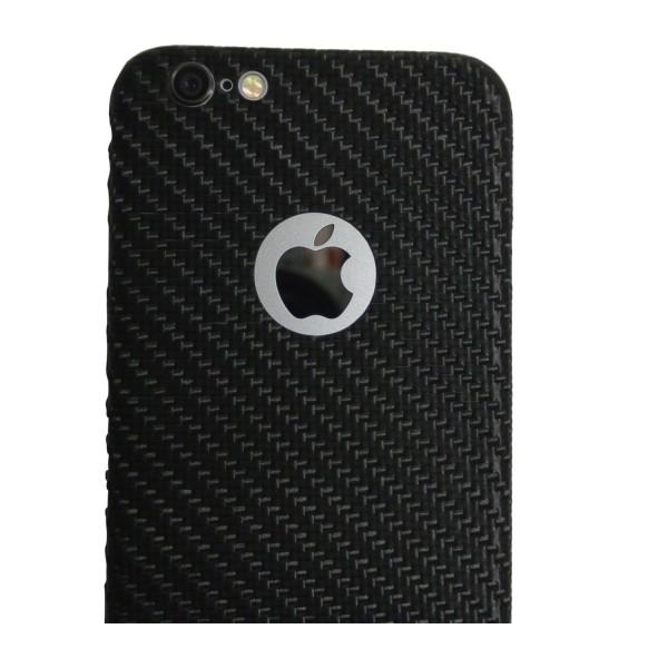 Carbon Cover iphone 6 Plus avec Logo Window