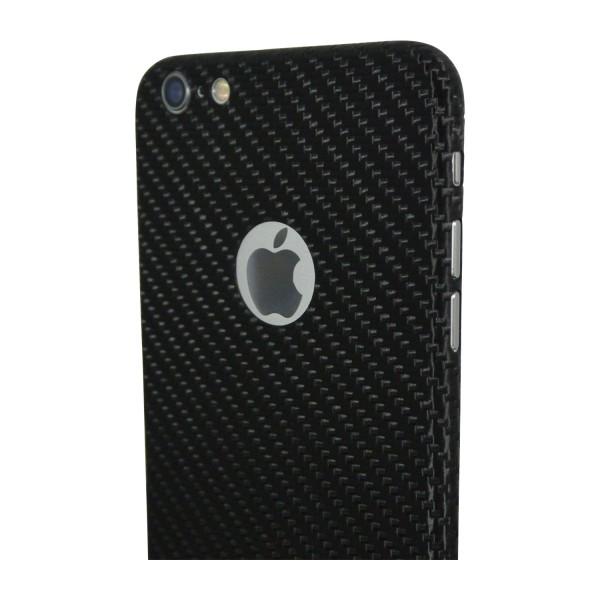 Carbon Cover iPhone 6s avec Logo Window